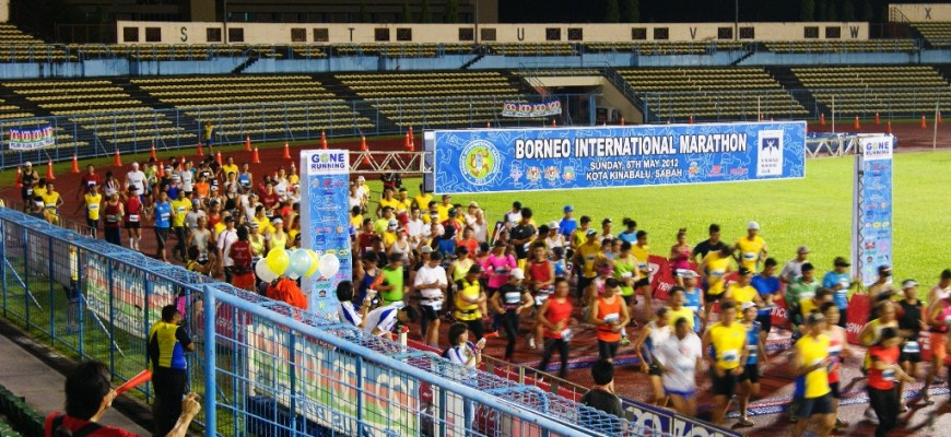 Borneo International Maraton 2012